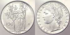 100 LIRE 1963 REPUBBLICA ITALIANA ITALY BB+/VF+ #4260