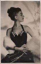 ALBA ARNOVA - Argentine Actress & Dancer - Orig. B/W Hand Signed Photograph 1948