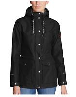 Eddie Bauer Women's Black Charly Anorak Button Zip Up Jacket Variety #101
