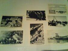 Der Zweite Weltkrieg im Bild-Serie 36-.Tevion-Bild 1 bis 6(Zigarettenbilder)