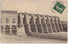 CPA -24-  TUILIERES - Barrage et usine de l'Energie Electrique du Sud Ouest.