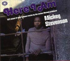 Mickey Stevenson Here I Am CD+Bonus Tracks NEW SEALED Soul