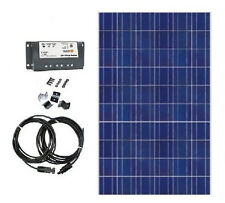 65W German Cell Solar Panel kit w/ charge controller & cables & Z bracket