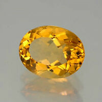 Masterpiece Collection: Oval Genuine (Natural) Golden Citrine (5x3-16x12)