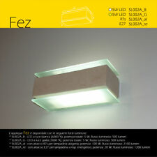 lampada da parete artigianale in pietra tufo leccese naturale applique FEZ