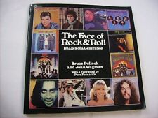 THE FACE OF ROCK'N'ROLL - RARE BOOK 1978 - ENGLISH