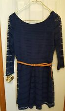 Lily Rose Nwt Navy Dress Size XL