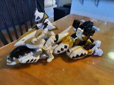 Power Rangers Dino Thunder White Raptor Charger White Ranger 2004 RARE