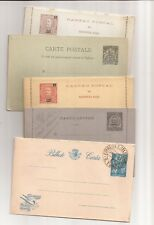 AFRICA-9 older unused/used French/Portuguese postal cards