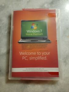 Microsoft Windows 7 Home Premium 64 bit x64 w/SP1 Full English NEW SEALED