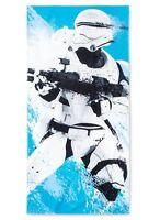 "Disney's Star Wars Blue Flame Storm Trooper 100% Cotton Beach Towel  28"" x 58"""