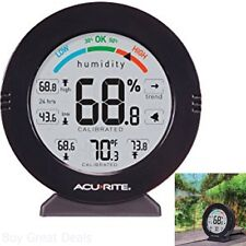 Temperature Humidity Monitor Reader Alarm Measuring Indoor Display Programm