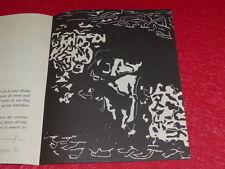 [Coll.R-JEAN MOULIN ART XXe] DORA TUYNMAN LITHO signed 1961 Sérigraphie CoBrA