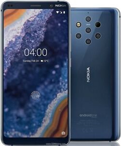 Nokia 9 Pureview Midnight Blue 128 GB Mint condition Amazing camera phone.