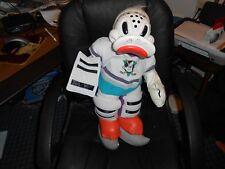 Vintage Anaheim Mighty Ducks Wild Wing Doll w Team AUTO Autographs Kariya