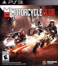 Motorcycle Club - PlayStation 3, Very Good PlayStation 3, Playstation 3 Video Ga