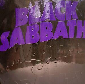 Black Sabbath Master of Reality LP+insert Vertigo Germany embossed cover 1971
