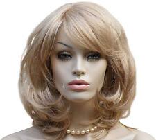 Perucke blond mittellang