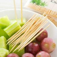 200pcs Bamboo Dental Unique Teeth Toothpicks Stick Oral Care Tooth Clean To F8N8