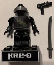 KRE-O GI JOE Snake-Eyes v1 A3362 Ninja Temple Battle Figure COMPLETE Kreo
