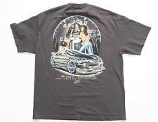"Zum Speed /""Just Hit It/"" T-Shirt Mens X-Large New Dykom 2005 XL Blue Gray Vintage"