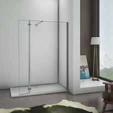 200x90cm Paroi de douche avec paroi à charnière 40cm + barre de fixation 90cm
