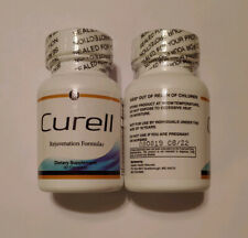 Curell Rejuvenation Formula x2 Bottles 30 Pills; Exp 08/22