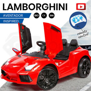 【EXTRA15%OFF】ROVO KIDS Ride-On Car LAMBORGHINI Inspired - Electric Toy