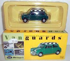 VANGUARDS 1/43 VA02511 MINI COOPER S GREEN WHITE CHECK ROOF