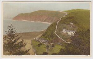 Devon postcard - Countisbury Hill, Lynmouth (A835)