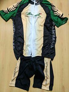 Mens CUORE Cycling Jersey + Bib shorts Switzerland