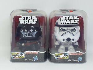 Mighty Muggs DARTH VADER  STORMTROOPER Hasbro Disney Star Wars Figures