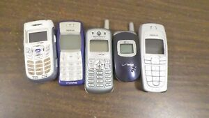 Lot of Vintage Cell Phone for parts/repair