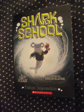 BRAND NEW Paperback Book Shark School Fishin' Impossible by Davy Ocean