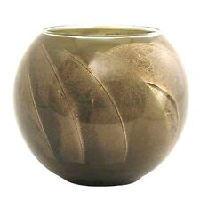 Northern Lights Esque Olive 4 inch Candle Globe Scented with Mysteria Wax