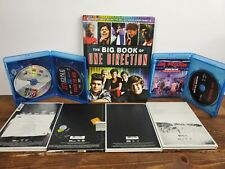One Direction Lot:Book 2 Blue Rays Midnight Memories Yearbook Up All Night Four