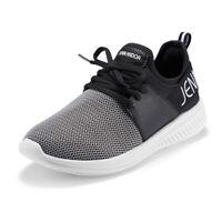 JENN ARDOR Women's Casual Sneakers Athletic Walking Running Slip-On Shoes Black