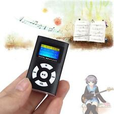 MP3 Music Player With Digital LCD Screen Mini Clip Susport 32GB Micro SD TF GD