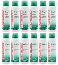 12pz BOROTALCO ORIGINAL deodorante spray con microtalco 150ml corpo deo NUOVO