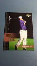 MICHAEL CLARK II 2001 UPPER DECK GOLF CARD # 190 B7448