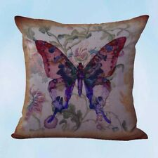 US Seller- vintage butterfly cushion cover decorator throw pillow cover