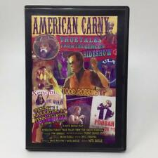 American Carny DVD True Tales from the Circus Sideshow Todd Robbins