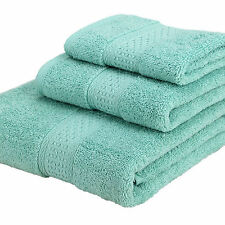 LUXURY 100% EGYPTIAN COTTON Fluffy Luxury Set Face Hand Bath Bathroom Towels Set