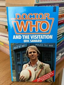 doctor who target book -  THE VISITATION