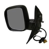 VW TRANSPORTER T5 2003-2010 porte miroir noir électrique O//S driver droit