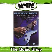New Best Rock Songs for Easy Guitar Music Book - Beginners' Guitar Songbook