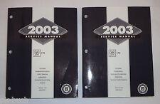 Werkstatthandbuch Cadillac CTS Volume 1 + 2 Stand 2003