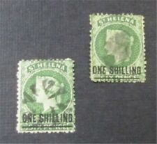 nystamps British St. Helena Stamp # 16.17 Used $55