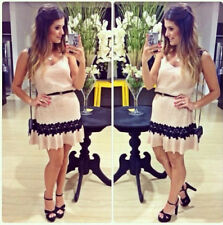 New Sexy Women Halter Dress Casual Mini Skirt Evening Cocktail Fashion Size S