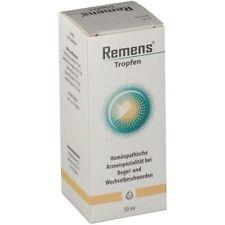 Remens Bittner - menopause & menstrual disorder homeopathic natural drops 50ml